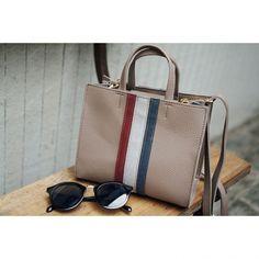 Color Line Fake Leather Shoulder Bag - ◆ritam.com-リタムドットコム web shop 15,000円以上お買い上げの方は送料無料◆