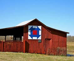 Barn Quilt on Tennessee Quilt Trail in Lawrenceburg, Tennessee
