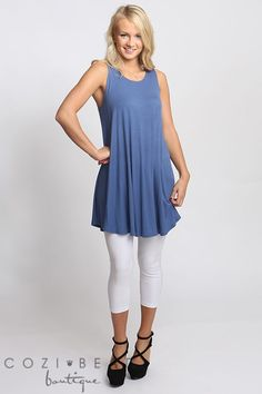 Tunics are so popular right now. What better way to bring on the warmer weather than with a perfect tunic with your favorite jeans or leggings.