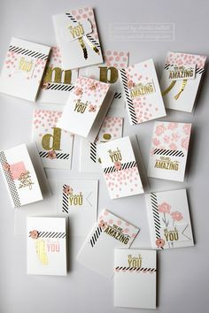 Larger Than Life Alphabet Stamp Set
