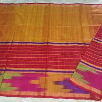 Uppada Kaveri Checks Saree | Buy online uppada sarees For be...