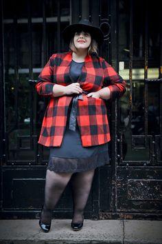 Le blog mode de Stéphanie Zwicky » Blog Archive » * Dentelle et tartan *