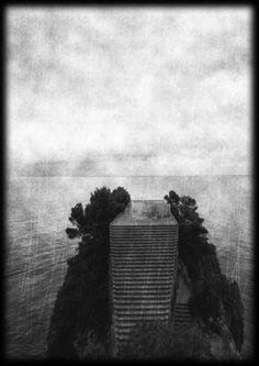 Casa Malaparte, isle of Capri, Italy. Setting for Godard's film Contempt