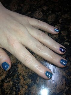 @OPI Nail  #gelcolorglittercoat #suzisaysfengshui #opiink #whichiswitch Nails by Wendy at @austinspringsspa