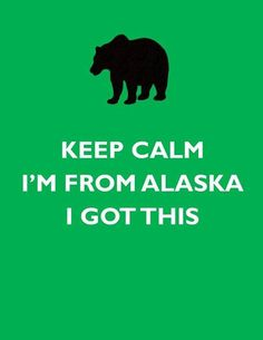 Even though I haven't lived there in years, I'm still an Alaskan girl at heart!! I got this :D
