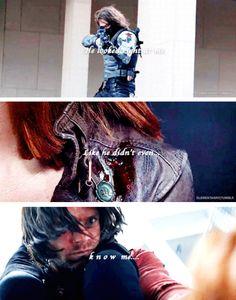 Bucky is a true hero!
