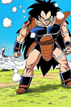 Raditz Dragon Ball Z, Dbz Manga, Manga Art, Guerrero Dragon, History Of Manga, Z Warriors, Pokemon Dragon, Bd Comics, Anime Merchandise