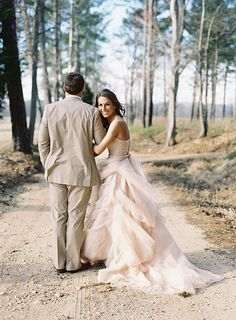 Stunning Georgia wedding by Eric Kelley. her dress and his suit go great together!