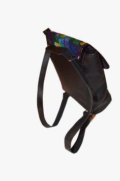 Leather Convertible backpack Crossbody bag Tzute by IKALA on Etsy