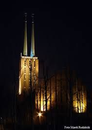 Gdynia. The tower of Franciscan Church of St. Anthony (St. Maximilian Hill District)