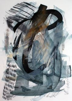 "Saatchi Art Artist Marijah Bac Cam; Painting, ""July Inkpulse III.IX.VII.XVI"" #art"