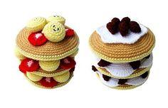 Ravelry: Crochet Pattern free download - PANCAKES pattern by Sky Magenta