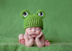 @megumi Maris @Anna Faunce Hocklander  have you seen how many frog hats there are for babies (and dogs and grown-ups) on etsy????