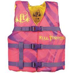 Full Throttle Youth Character Vest, White