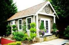 Outdoor Living - traditional - garage and shed - seattle - by McCarthy Custom Homes LLC.
