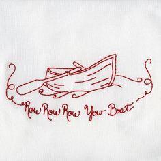 Lullabye Redwork - Embroidery Playground   OregonPatchWorks