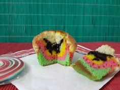 Rengarenk muffin