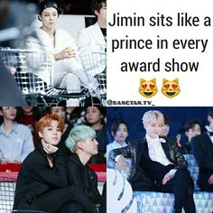 Yeah...because he is a prince. It's the true. Park Jimin I love you!!!