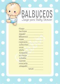 Juegos Para Baby Shower Para Imprimir Gratis De Patito Juegos De