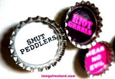 Punk Chix - Bottle Caps - Magnets | Flickr - Photo Sharing!