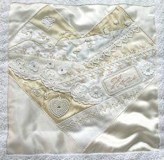 I ❤ crazy quilting, beading & embroidery . . . Problem Child-Julia Schneider ~By Pinyon Creek Stitchin'
