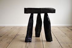 Might have to get sculptural some day...  >>> Max Lamb | Urushi Stool | 2011, Chestnut, urushi lacquer | Unique | UK