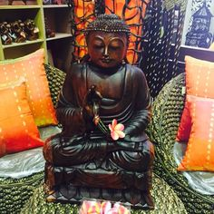 Buddha Wood Carving
