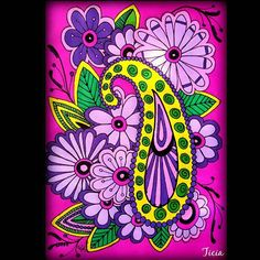 Nice flowers! By @ticia16_64  You create beauty with colors!