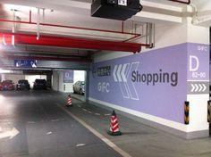 Parking lot at Takashimaya Shanghai