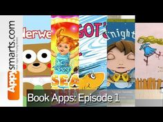 Book apps for kids: Bear in Underwear,Elfishki,Goodnight Lucy,McElligot's Pool,Out of the Question - YouTube