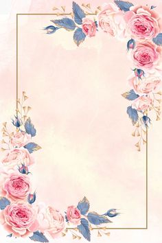 European Pattern Wedding Invitation Poster Background Material – The Best Ideas Framed Wallpaper, Flower Background Wallpaper, Flower Phone Wallpaper, Flower Backgrounds, Background Patterns, Wallpaper Backgrounds, Frame Background, Wedding Invitation Posters, Wedding Invitation Background