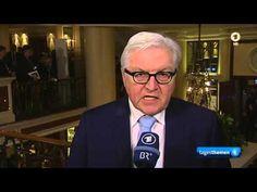 Frank-Walter Steinmeier im Gespräch mit Caren Miosga zur Syrien - Krise ...
