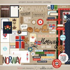 Project Mouse is ready to take you around the world!  Krista & I have been working SO hard on this collection, and we are just so excited to...