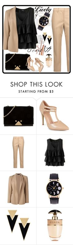 """""""Lively amazing"""" by delicamelaa ❤ liked on Polyvore featuring Emporio Armani, Journee Collection, Helmut Lang, Theory, Yves Saint Laurent and Prada"""