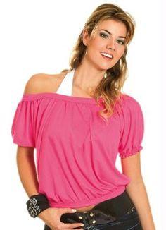 Blusa Pink Modelo FranzidoManga Curta - Posthaus.com.br