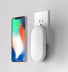 Iphone Wireless Charger  The latest iPhone phones have begun to support wireless charging, and many Android mobile phones have also provided support for this technology.  Designer Jay Kim has created a new wireless charging solution. The system contains a special cellphone shell and a set of charging modules.   #IphoneWirelessCharger