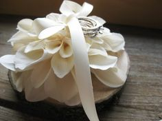 Hey, I found this really awesome Etsy listing at http://www.etsy.com/listing/64943009/ring-pillow-natural-wood-with-ivory