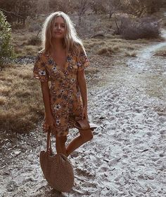 I don't even know if this is a playsuit or a dress but yeah, always need one boho item