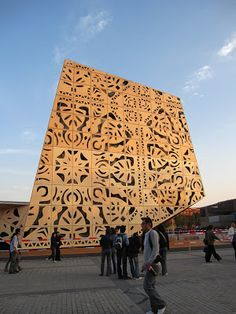 maaagda: Polski pawilon EXPO 2010 na wzór ludowych wycinanek