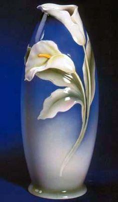 Franz Calla Lily Vase