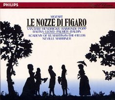Le Nozze Di Figaro by Mozart / Sir Nevelle Marriner / St. Martin-in-the-Fields
