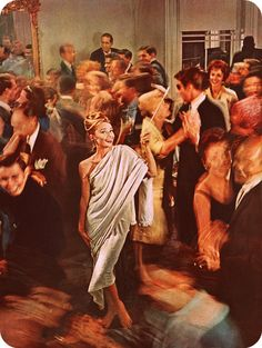 epic Holly Golightly party
