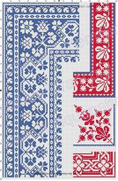 Easiest Crochet Frills Border Ever! Cross Stitch Sampler Patterns, Wedding Cross Stitch Patterns, Cross Stitch Borders, Crochet Borders, Cross Stitch Charts, Cross Stitch Designs, Cross Stitching, Cross Stitch Embroidery, Embroidery Patterns