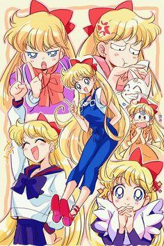 Sailor Venus, Sailor Moon Sailor Stars, Sailor Moon Manga, Sailor Moon Fan Art, Sailor Moon Crystal, Sailor Moon Funny, Sailor Scouts, Princesa Serenity, Sailor Moon Wallpaper