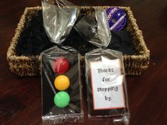 Traffic Light Themed Party Favours