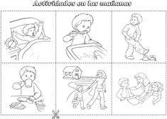 Actividades en la mañana ~ Maestras Jardineras