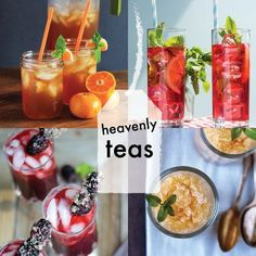 Heavenly and Refreshing Teas