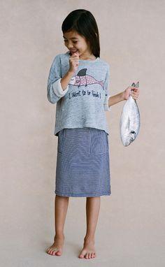 Nice Things Mini SS17 skirts for girls. Fashion for girls. Moda de verano.