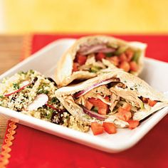 Chicken Souvlaki | MyRecipes.com