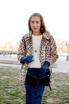 How to style a sweater for special holiday occasions... #layeredONstyle